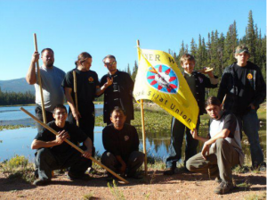 Group shot from 2008 Silat Camp at Lost Lake